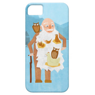 Old Man with Birds 3 Case For iPhone 5/5S