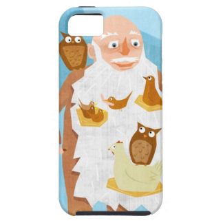 Old Man with Birds 3 Cover For iPhone 5/5S