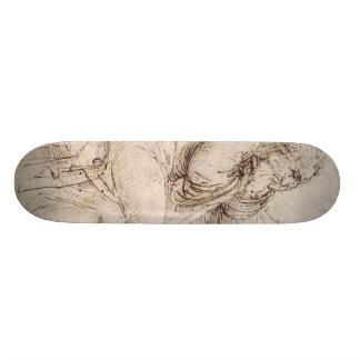 Old Man with Water Studies Skateboard