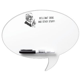Old Man with Words - Customize It Dry-Erase Board