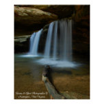 Old Mans Cave Falls Posters