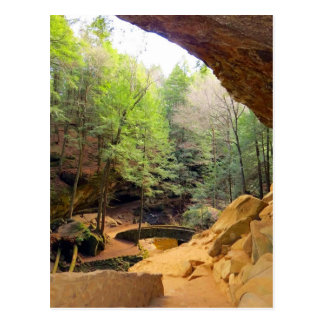 Old Man's Cave Postcard