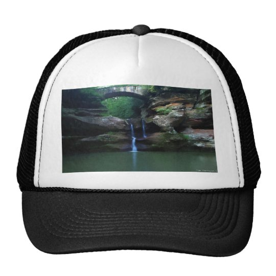 Old Man's Cave Trucker Hat