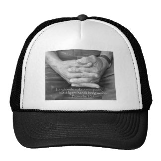 Old Man's Hands Trucker Hat