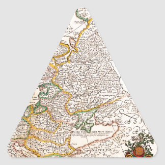 Old Map 0003 Triangle Sticker