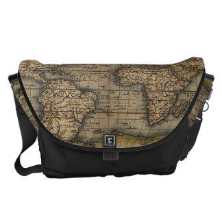old map,antique map messenger bag