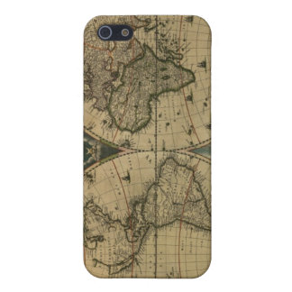 Old Map Globe iPhone SE/5/5s Cover