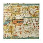 Old map Kansai Tile