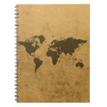 Old Map Notebook