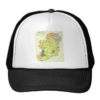 Old map of Ireland Trucker Hat