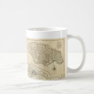 Old Map of Jamaica (1770) Coffee Mug