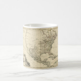 Old Map of North America (1783) Coffee Mug