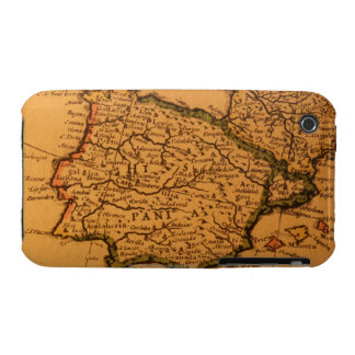 Old map of Spain iPhone 3 Case-Mate Case