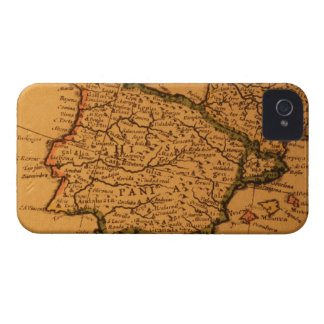 Old map of Spain iPhone 4 Cover