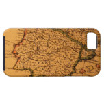 Old map of Spain iPhone 5 Covers