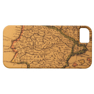 Old map of Spain iPhone SE/5/5s Case