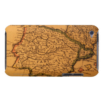 Old map of Spain iPod Touch Case
