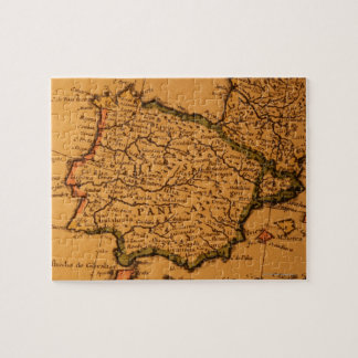 Old map of Spain Jigsaw Puzzle
