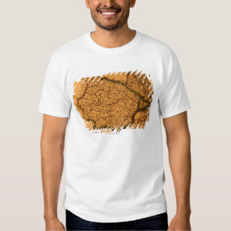 Old map of Spain T-Shirt