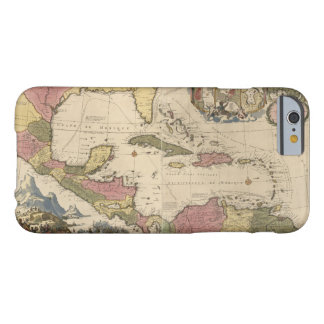 Old Map of the West Indies (1757) Barely There iPhone 6 Case