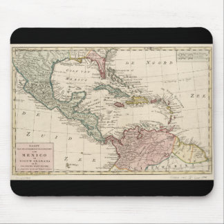 Old Map of the West Indies Caribbean (1765) Mouse Pad