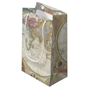 World Map Gift Bags.Old World Map Gift Bags Zazzle
