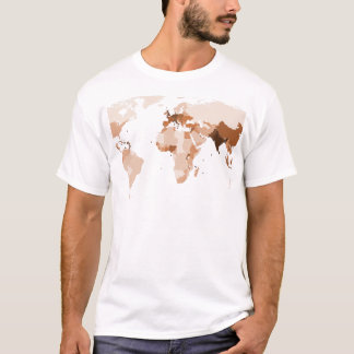 Old map of the world T-Shirt