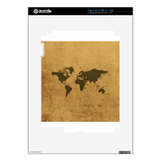 Old Map Decal For iPad 2