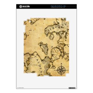 Old Map Skin For iPad 2