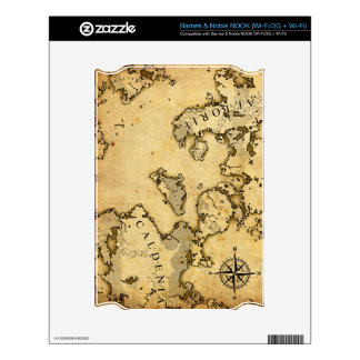 Old Map Skins For NOOK