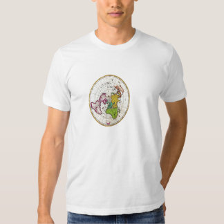 old maps t-shirt