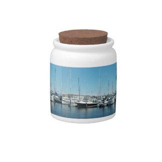 Old Marina Candy Jar