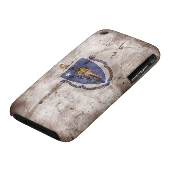 Old Massachusite Flag; iPhone 3 Case