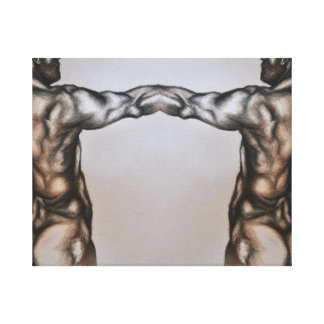Old Masters figure drawing fig 4 Canvas Print