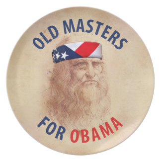 Old Masters for Obama Plate