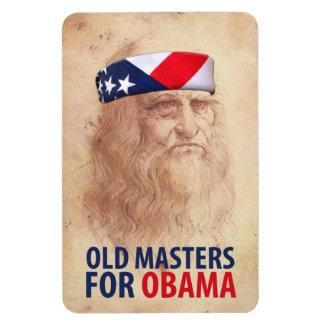 Old Masters for Obama Vinyl Magnets