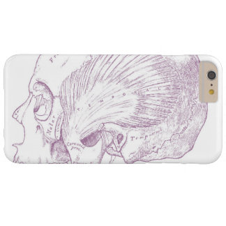 Old Medical Drawing Human Temporal Muscle Barely There iPhone 6 Plus Case