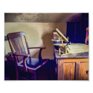 Old Medical Office Photography Print