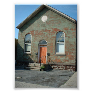 Old Meeting House on Allen Street in Buffalo NY Photo Print