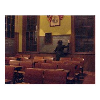Old Memories Schoolroom - Reunion Save the Date Postcard