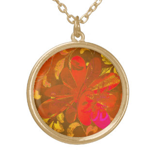 Old Memory Gold Plated Necklace