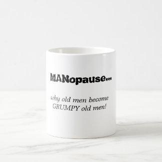 Old Men Classic White Coffee Mug
