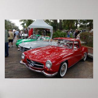 Old Mercedes Print