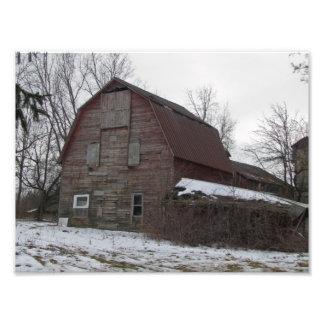 Old Michigan Barn Photo Print