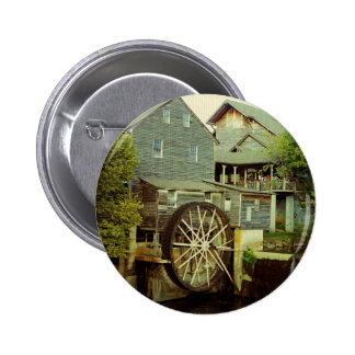 Old Mill 2 Pinback Button