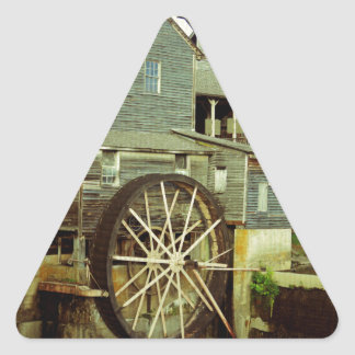 Old Mill 2 Triangle Sticker