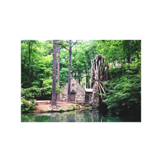 Old Mill at Berry College in Rome, GA Canvas Print