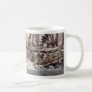 Old Mill By Schiele Egon Coffee Mugs