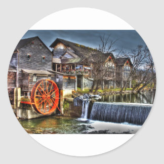 Old Mill Classic Round Sticker