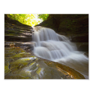 Old Mill Falls, Robert Treman state park, NY Photo Print